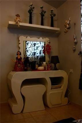 עוד מבט על חדרה של נערה צעירה. עיצוב של יואלה בר-טל