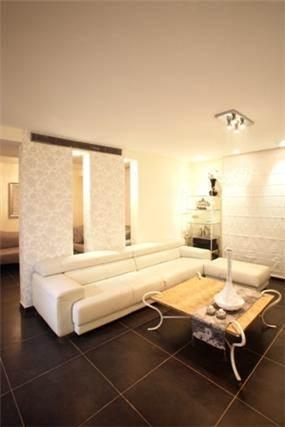 חדר משפחה בעיצוב יוקרתי בעיצוב ותכנון a&e design