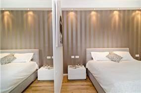חדר שינה בעיצוב מרגיע - בעיצוב לילך וואנו בן יצחק
