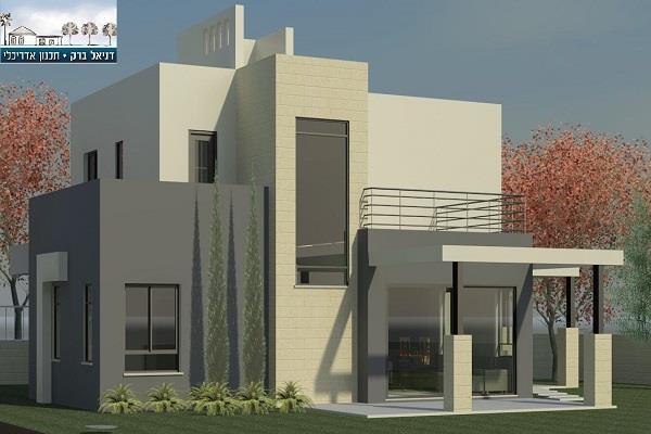 חזית בית, דניאל ברק תכנון אדריכלי