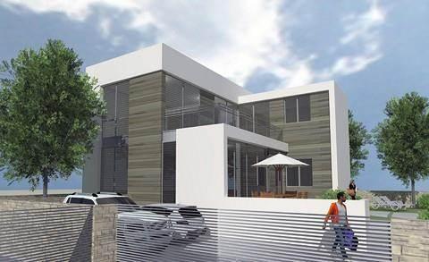 הדמיה לחזית בית פרטי, תכנון - טי.אל.וי סטודיו