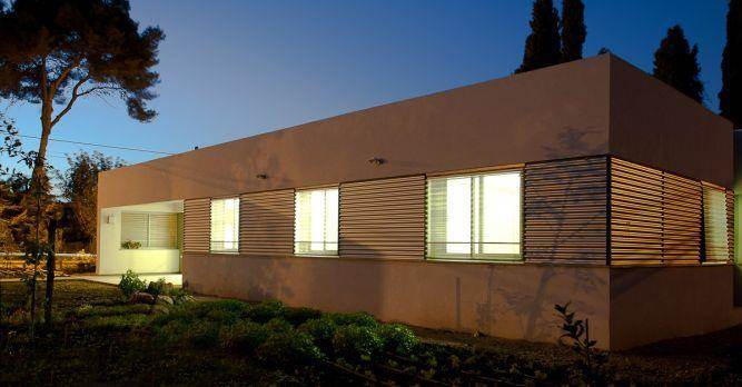 חזית בניין בעיצוב ותכנון של saab architects