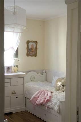 חדר ילדה בסגנון קלאסי נסיכתי