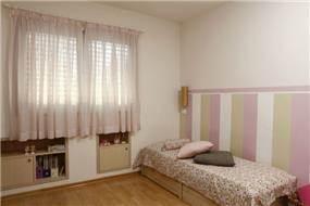 חדר לילדה בתכנון זוהר רוזנפלד