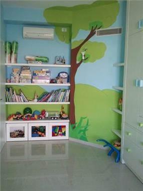 ציורי קיר בחדר ילדים, לול עיצובים