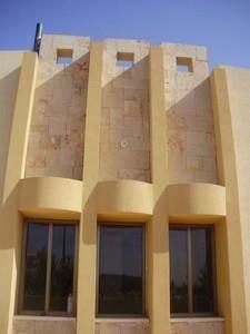 חזית וילה בעיצוב קלאסי בתכנון יעקב אדריכלות