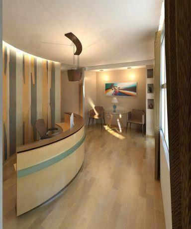 קליניקה לפסיכלוג,מבט אל פינת ההמתנה בעיצוב InDesigns studio