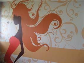 עיצוב פנים מרשים וייחודי במועדון לנערה נצרת עילית, סיגל מורגן עיצוב פנים ,סטיילינג אישי,הום ופלייס סט