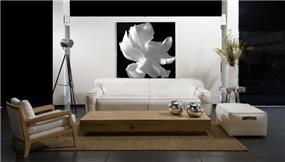 סלון בעיצוב נקי מבית גלריית אוקנין