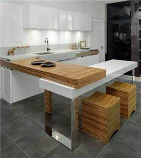 מטבח בעיצוב פזית חזיז