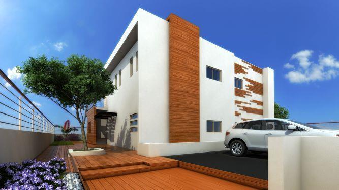 modern wood house - בעיצוב פזית חזיז