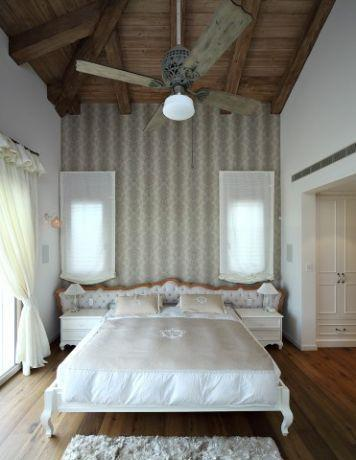 חדר שינה מרשים, בעיצוב שירלי דן