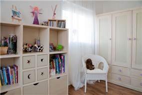 חדר ילדים בעיצוב חמים - בעיצוב ליהי שמאי