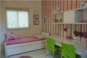 חדר ילדים בעיצוב שירלי זיגדון