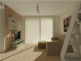 דירה בהוד השרון בעיצוב שירלי זיגדון