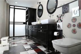 עיצוב חדר רחצה כמו מלון בוטיק, סטודיו פופה