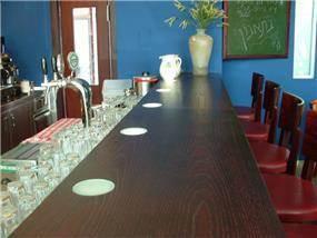 בר משקאות, מסעדת BROSHETT - אבי שטרנפלד אדריכלים