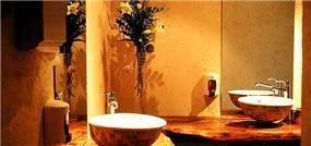 עיצוב מסעדה בסגנון כפרי בצבעי אדמה - אורנה גבעון, אדריכלות ועיצוב פנים
