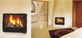 חדר שינה עם נישות גבס והדמית אח - אורנה גבעון - אדריכלות ועיצוב פנים