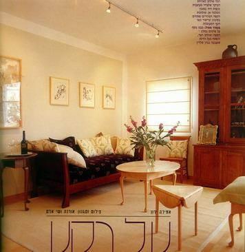 סלון בעיצוב קלאסי - אורלי ערן, אדריכלות ועיצוב פנים