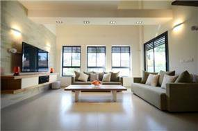 סלון, עיצוב: Gilad Interior Design