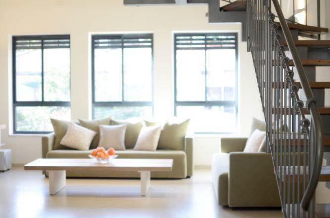 סלון מעוצב ע''י Gilad Interior Design