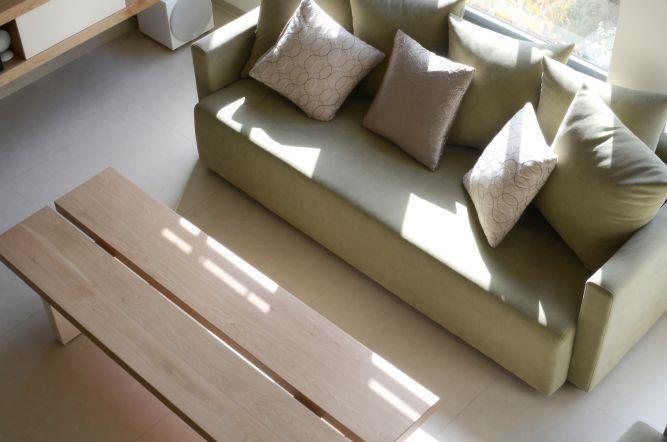 מבט מלמעלה אל הסלון, בעיצוב Gilad Interior Design