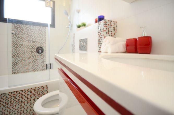 חדר אמבטיה לילדים מעוצב ע''י Gilad Interior Design