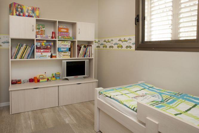 חדר ילדים בעיצוב מירב שלום