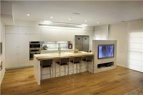 המטבח  - לב הבית, בעיצוב מירב שלום