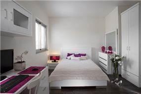 חדר שינה בהוד השרון בעיצוב ליאת הראל