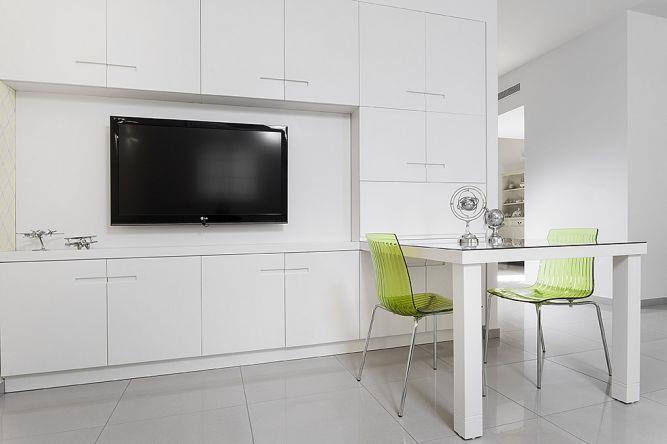 פינת טלויזיה בתל מונד-עיצוב ליאת הראל