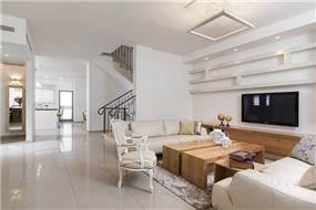 מבט מהסלון אל הבית -עיצוב ליאת הראל
