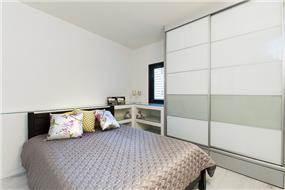 חדר שינה באזורי חן בעיצוב ליאת הראל