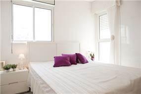חדר שינה בבת ים-עיצוב ליאת הראל