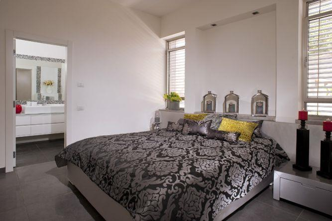 חדר שינה בהוד השרון-עיצוב ליאת הראל