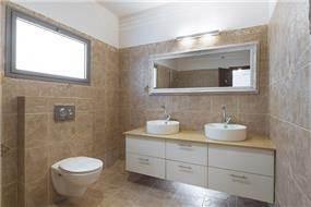 חדר אמבטיה בתל מונד - עיצוב ליאת הראל