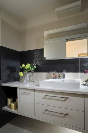 חדר אמבט בכפר סבא-עיצוב ליאת הראל