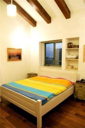 חדר שינה בנירית-עיצוב ליאת הראל