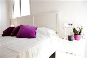 חדר שינה בבת ים בעיצוב ליאת הראל
