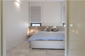 חדר שינה בעיצובה של ליאת הראל
