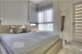 חדר שינה מעוצב ע''י ליאת הראל