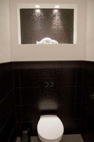 חדר שירותים בהוד השרון בעיצוב ליאת הראל