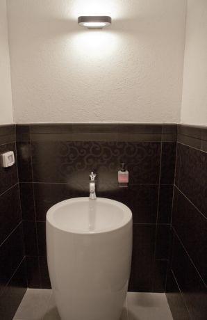 חדר שירותים בהוד השרון-עיצוב ליאת הראל