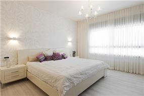 חדר שינה בתל מונד-עיצוב ליאת הראל