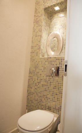 חדר שירותים בבת ים-עיצוב ליאת הראל
