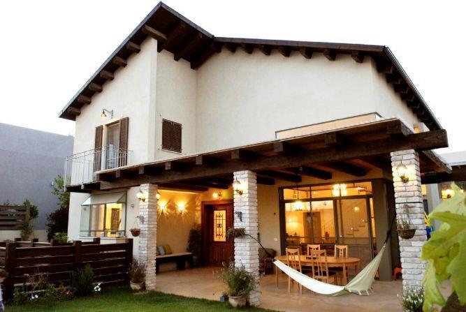 חזית בית פרטי בנירית,בעיצוב ליאת הראל