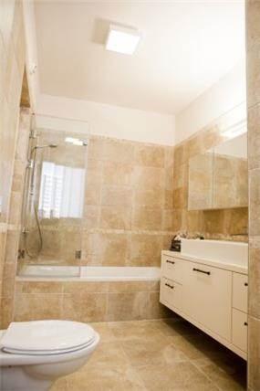 חדר אמבטיה בכפ''ס -עיצוב ליאת הראל