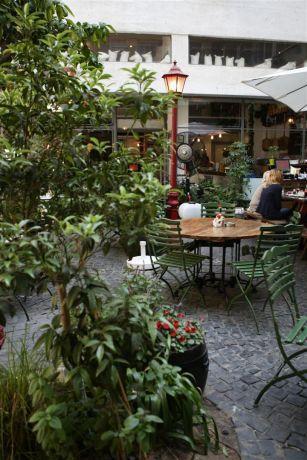 מסעדת פיאצה תל אביב בעיצוב גני עמרם