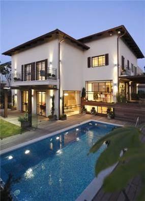 חזית בית בעיצוב אלקה רימר
